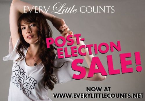 Post Election Sale at <i>Every Little Counts</i>
