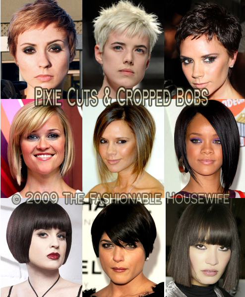 Hot Short Hairstyles For 2009. Rihanna sported her sexy short hairstyle once