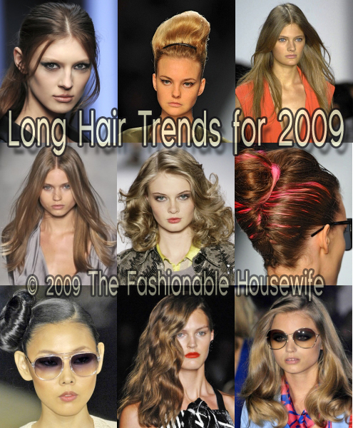 2009 Long Hair Trends