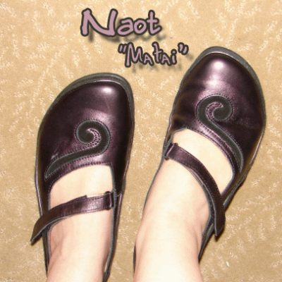 Review of Naot's 'Matai' Flat in Purple Peacock