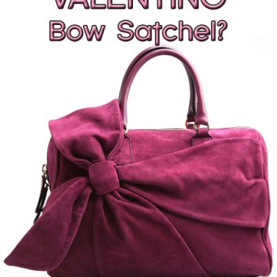 Enter To Win This VALENTINO Bow Satchel!