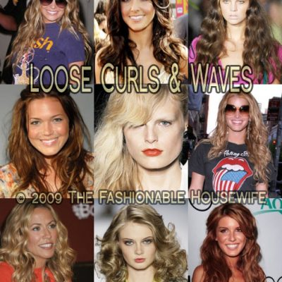 Spring 2009 Hairstyles: Loose Curls and Waves