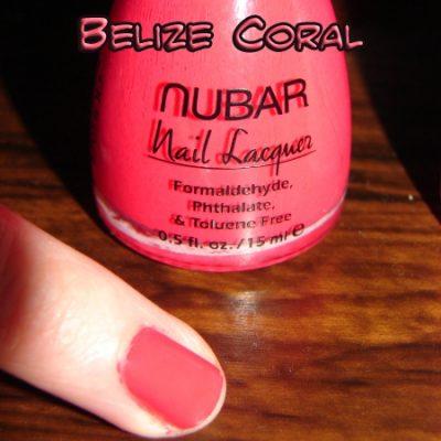 I'm Loving NUBAR Nail Polish – Corals Collection