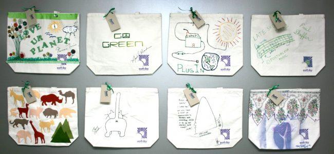 Celebrity Designed Tote Bag Auction