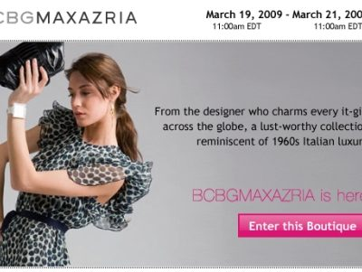 BCBG Maxazria Boutique Happening Now At RueLaLa!