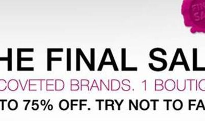 Calling All Fashionistas! Final Sale Happening at RueLaLa Today!!