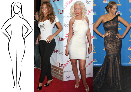 Are pear shaped figures more attractive than hourglass