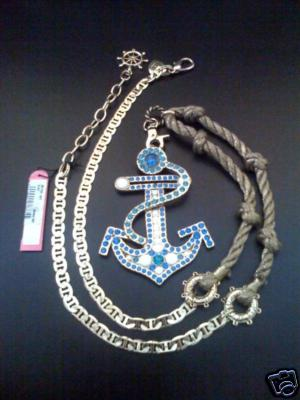 Betsey Johnson Anchor Necklace from Confessions of A Shopaholic
