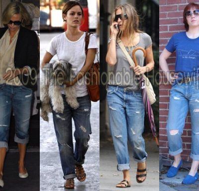 Spring & Summer 2009 Fashion Trends: Ripped Jeans