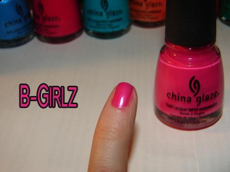 "China Glaze – ""Kicks Collection"" Part 1"