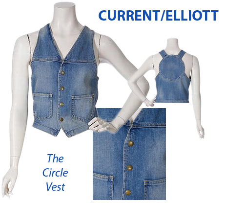 Enter To Win A CURRENT/ELLIOTT Circle Vest