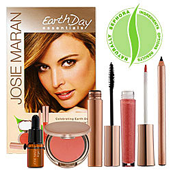 "Josie Maran's Earth Day Essentials Green ""On-The-Go-Kit"""
