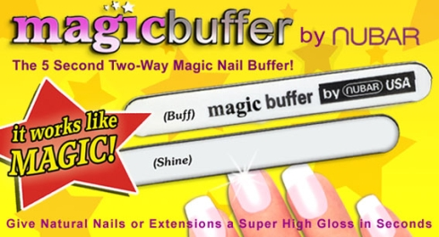 Buff Nails To A Brilliant Shine With MagicBuffer From Nubar