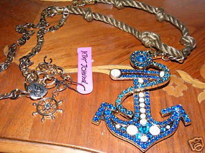 Anchor Necklace from Confessions of A Shopaholic Relisted On eBay!!