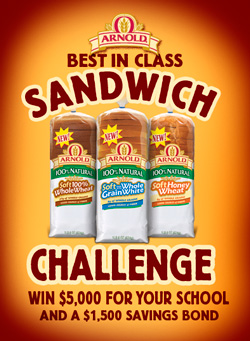 Enter The Arnold Best in Class Sandwich Challenge