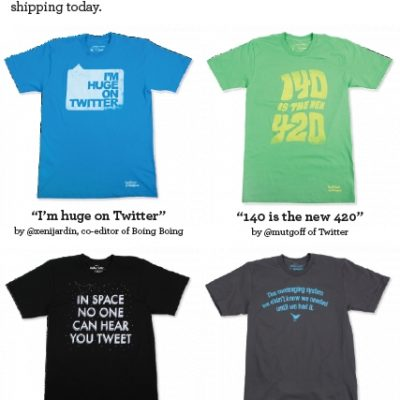 Twitter Tees: Submit A Tweet For A Chance To Win $500!