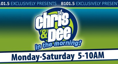 Our Radio Interview With B101.5 WBQB – Chris & Dee in the Morning