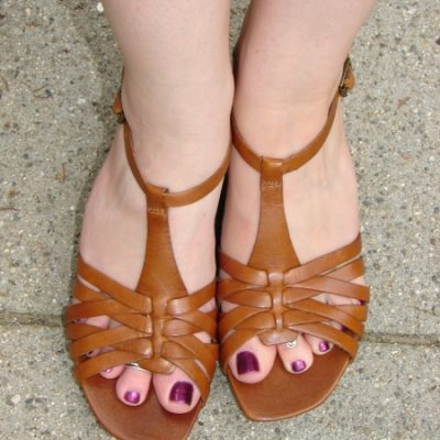 Comfortable Shoes: Clarks Erda Sandals