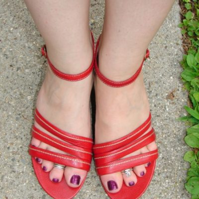 Comfortable Shoes: Clarks Flutter Sandals