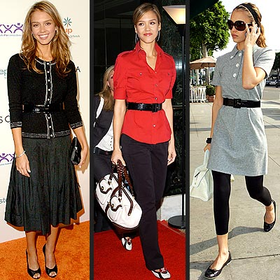 jessica alba outfits. Take cues from them for outfit