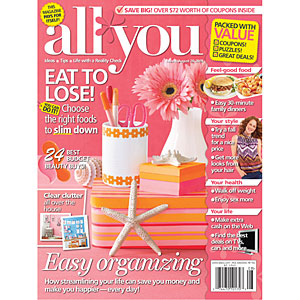 AllYou.com Relaunch & Subscription Giveaway