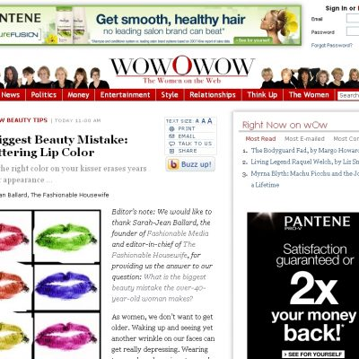 Press: Featured on WowOWow Website!