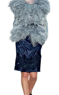Fall 2009 Trends: Furry Furs