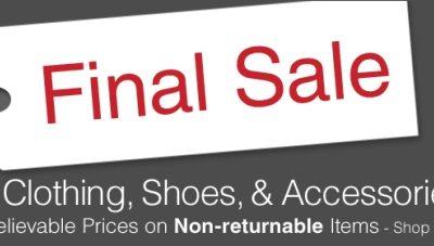 HUGE Final Sale At Overstock.com