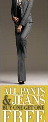 Ponté Knit Pants Make A Comeback