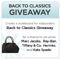 Marc Jacobs Stam Frame Bag Giveaway on Kaboodle!