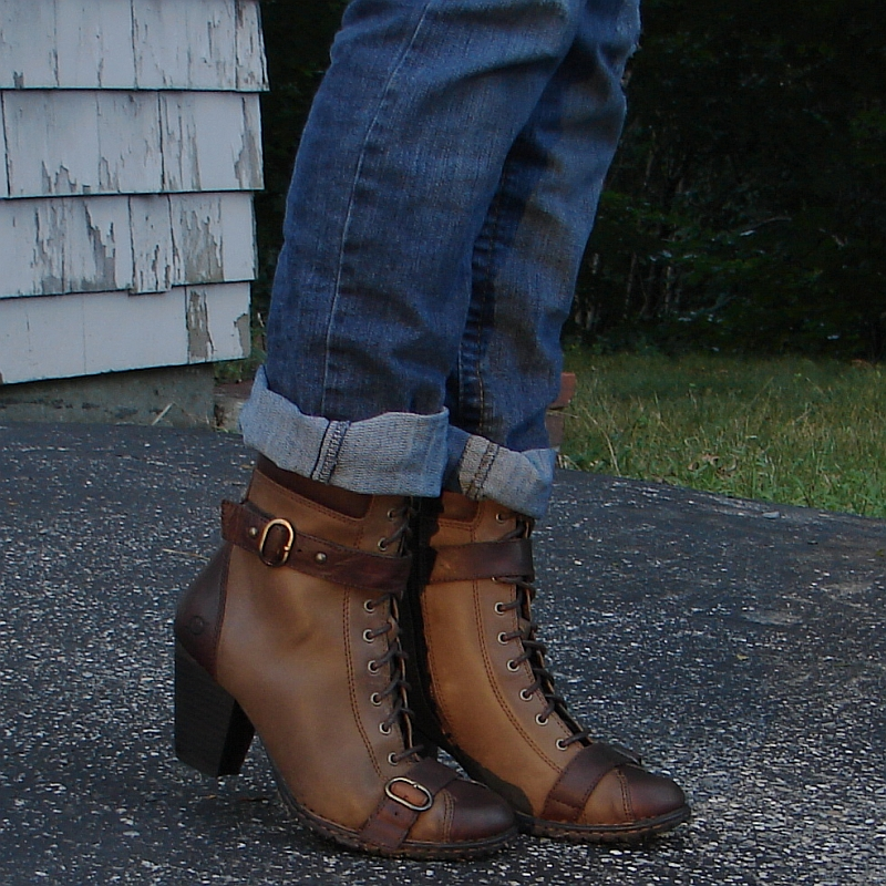 Leather Boots • The Fashionable Housewife