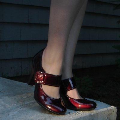 Review: Sofft 'Fiorenza' Chianti Patent Pumps
