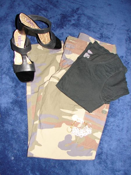 Today's Outfit: Camo Pants