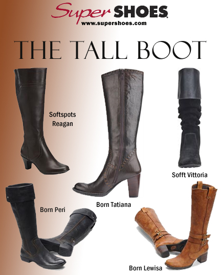 Five Must-Have Tall Boots for Fall 2009 / Winter 2010