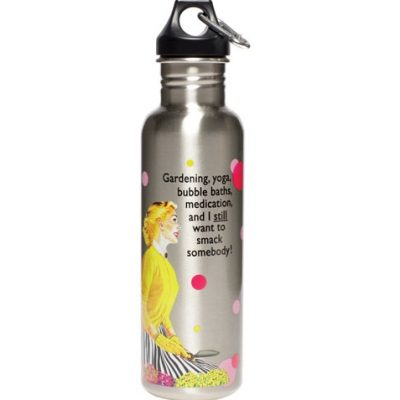 Retro Eco Friendly Reusable Steel Water Bottles