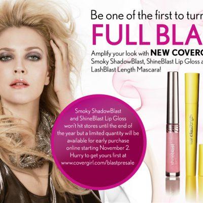 COVERGIRL Presale of Smoky ShadowBlast and ShineBlast Lip Gloss