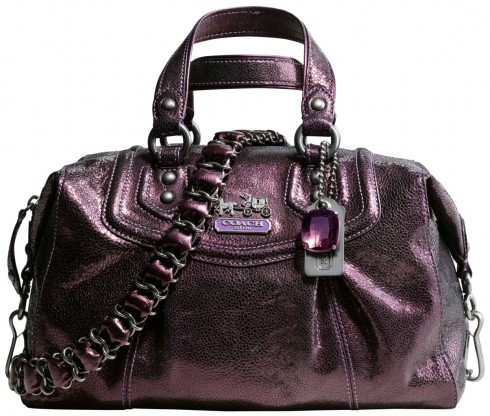 Coach Audrey Textured Metallic