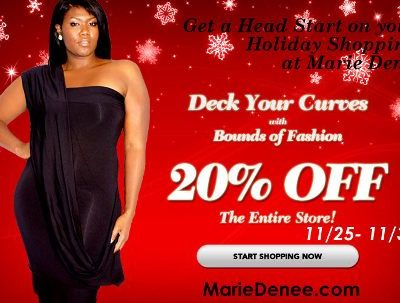 Black Friday: Plus Size Clothing from Marie Denee