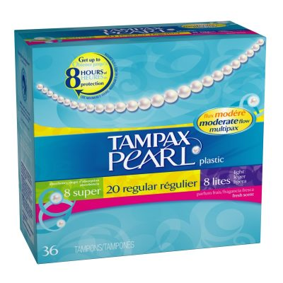 Tampax Pearl Tampons Giveaway