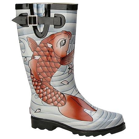 tattoo rain boots