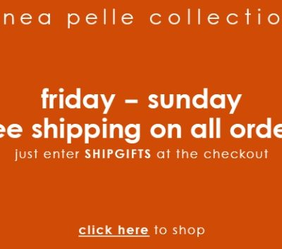 Black Friday: Free Shipping at Linea Pelle