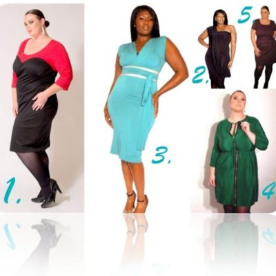A Fashionable Plus Size Holiday – Dresses