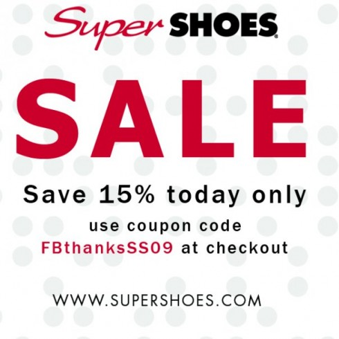 Super Shoe Store Coupon