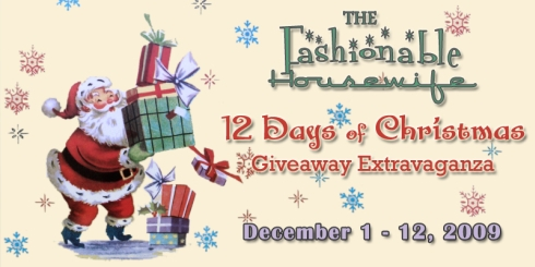 12 Days of Christmas Giveaway Extravaganza