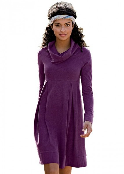 Hanes Cowl Neck Dress