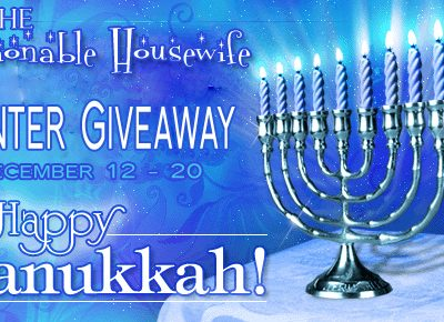 Hanukkah Giveaway – Twisted Silver