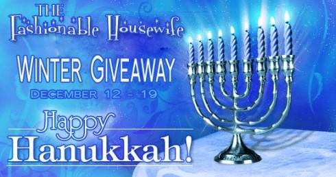 Hanukkah Giveaway