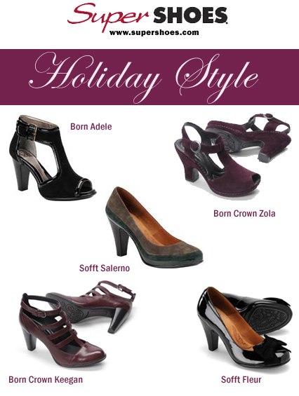Hanukkah Giveaway – Stylish Holiday Shoes from SuperShoes.com Online Shoe Store