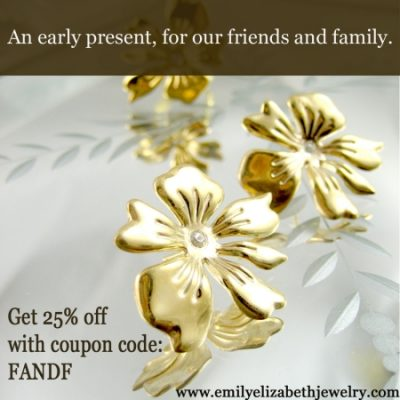 Emily Elizabeth Jewelry Friends & Family Sale