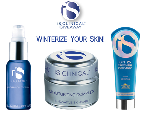 Day 2 – iS Clinical Innovative Skincare Giveaway *CLOSED*